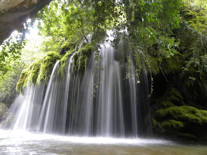 A CILENTO'S WATERFALL IN THE GUARDIAN'S TOP 10